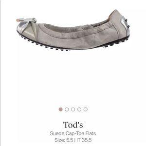 Tod's ballet flats size 5.5